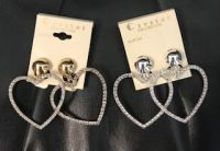 Floating Hearts Clip Ons 2 Pack